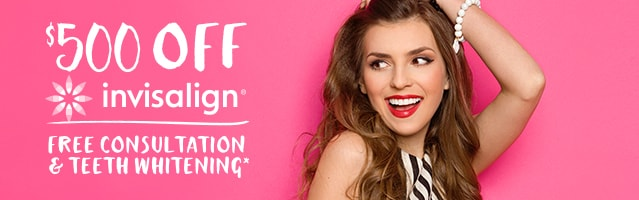 invisalign offer 500off free consultation teeth whitening