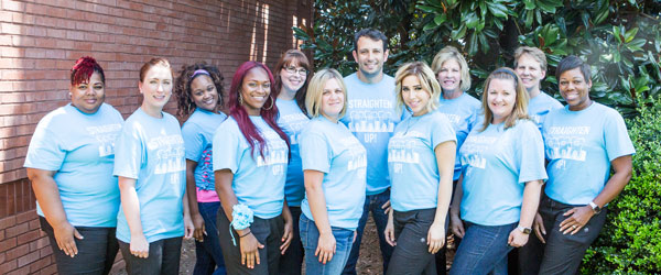 dental professionals of vinings team photo